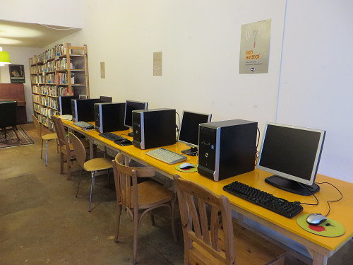 Computers in Rotterdam West Reading Room